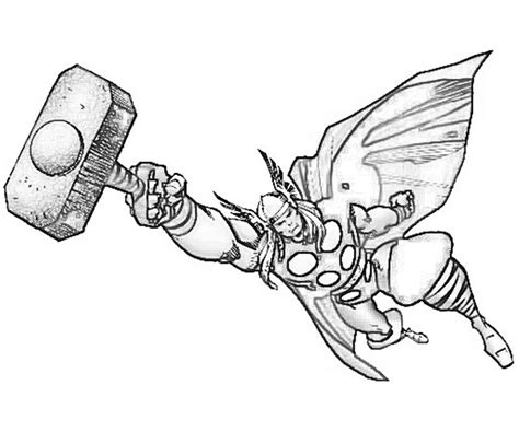 thor coloring pages online thor marvel coloring pages
