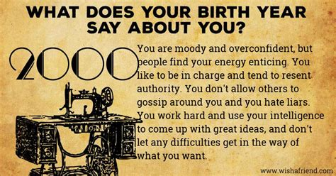 born year meaning what does your birth year say about you born in 2000