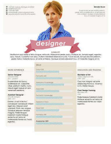49 Creative Resume Templates Unique Non Traditional Designs Headshot Layout Templates