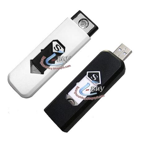 Korek Usb 1 usb korek bara api elektrik usb lighter