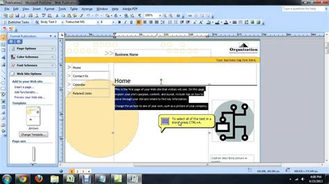 microsoft editor how to use microsoft publisher as a visual html editor