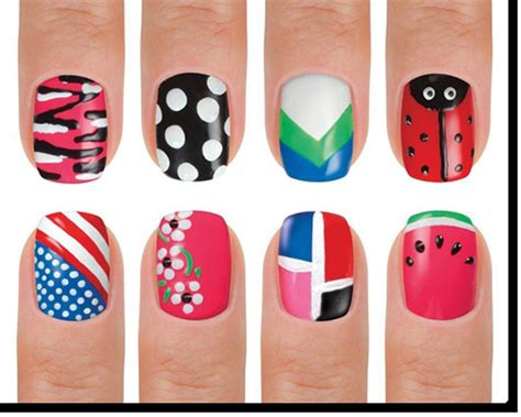 easy nail art pen designs jual kutek menghias kuku gizela shop tokopedia