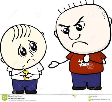 imagenes reflexivas del bullying bullying ilustraci 243 n del vector ilustraci 243 n de vector