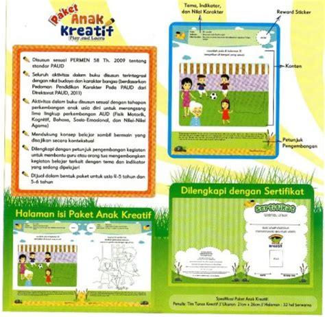 Aktivitas Cerdas Dan Kreatif Untuk Anak Paud Tk paket anak kreatif paud tk baca tulis hitung mewarnai kaffah college