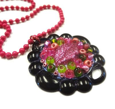 hobby lobby jewelry resin crafts boho style jewelry clay pendant for