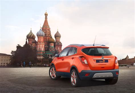 opel russia opel shows mokka moscow edition