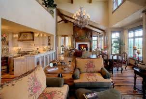 Country french cottage traditional living room salt lake city