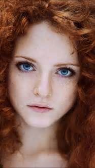 Red hair like hers red heads red hair beautiful blue eyes beauty