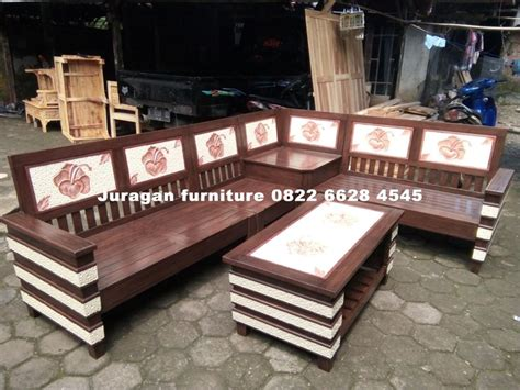 Kursi Bambu Bogor jual kursi sudut di bogor 0822 6628 4545 terbaru dari jati jepara juragan furniture jepara