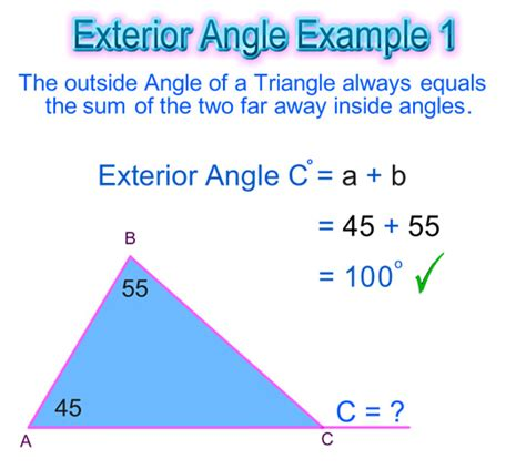 Finding Interior Angles by Exterior Angles Of A Circle Images