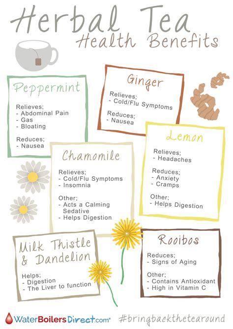 Herbal Detox Tea Benefits by Herbal Tea Health Benefits Visual Ly