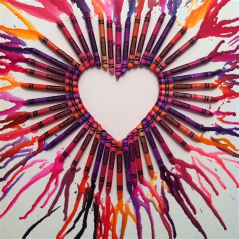 crayon hearts crayon crayons can melt on us for all i care
