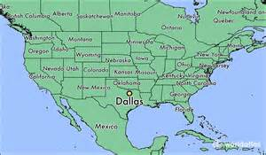 dallas usa map where is dallas tx where is dallas tx located in the
