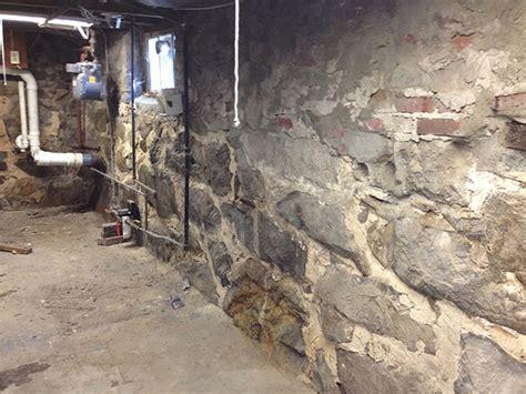 waterproofing stone basement walls stone foundation repair basement waterproofing