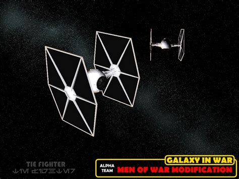 tie fighter image wars galaxy at war mod for