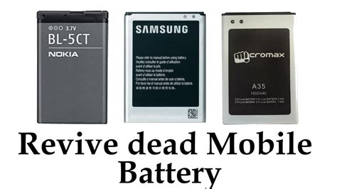 Cell Phone Baterry Wellcomm I8260 how to revive a dead cellphone battery any brand