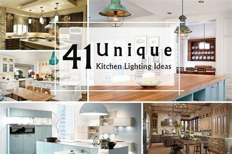 41 unique kitchen lighting ideas that are attractive