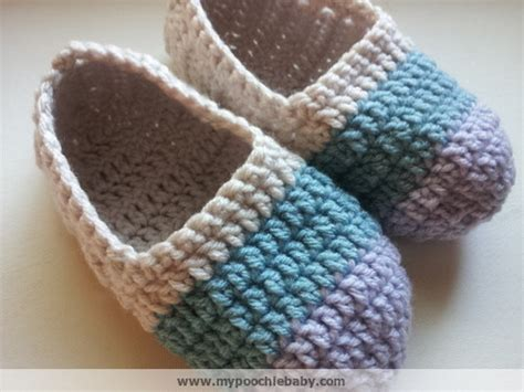 crochet house slippers raising mimi poochiebaby women s crochet ballet slippers free pattern