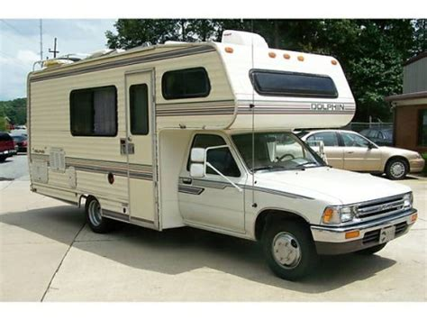 toyota motorhome 1986 toyota dolphin motorhome for sale in klamath falls or