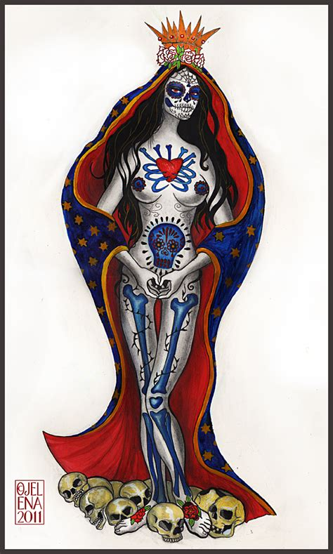 santa muerte tattoos designs santa muerte tatto desing by medusainfurs on deviantart