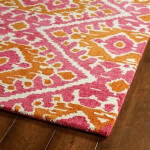 orange and pink rug pink and orange global inspirations rug rosenberryrooms