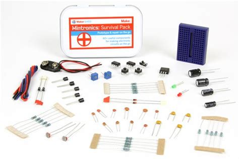Maker Shed Kits mintronics electronics kits from maker shed sector67