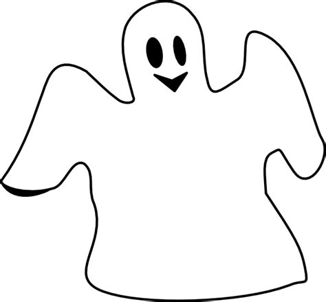 ghost clipart happy ghost clip at clker vector clip