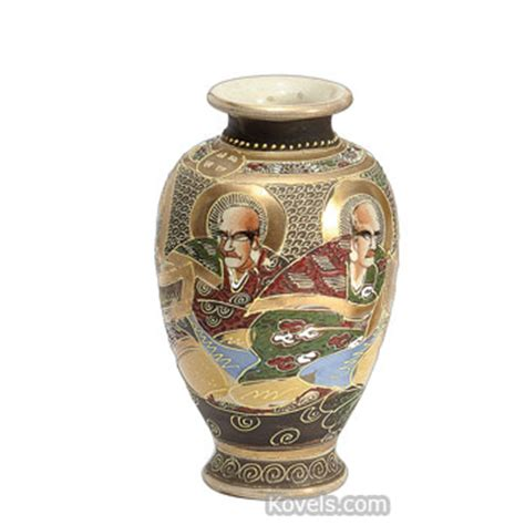 Satsuma Vase Prices antique satsuma pottery porcelain price guide antiques collectibles price guide