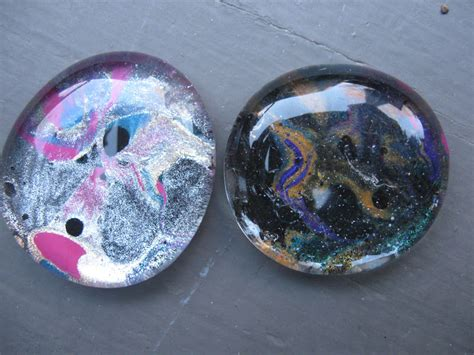 With Glass Stones craft klatch 174 marbled nail glass stones