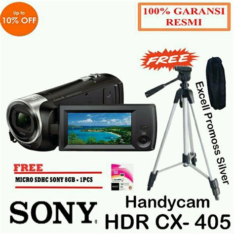 jual sony hdr cx full hd handycam camcorder camera