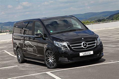 Mercedes V Class by Official Vath Mercedes V Class Gtspirit