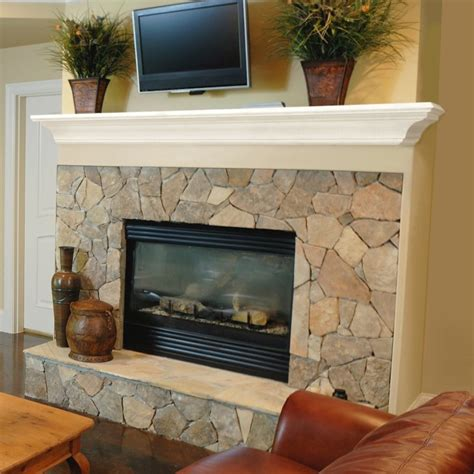 interior entranching fireplace shelving for home living