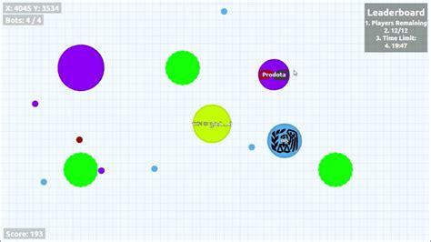 mod hunger games agar io agar io hunger games solo private server youtube