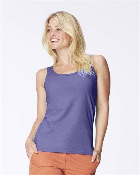 lady comfort colors comfort colors 3060l women s garment dyed tank top