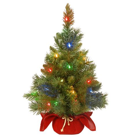 18 inch battery lit christmas tree home accents 96 in led pre lit bare branch tree with multicolor lights 4407463br02uho1