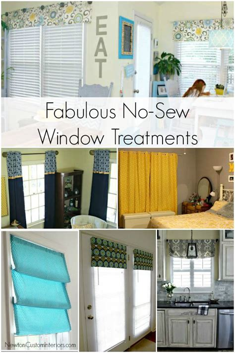 sew window treatments no sew window treatments newton custom interiors