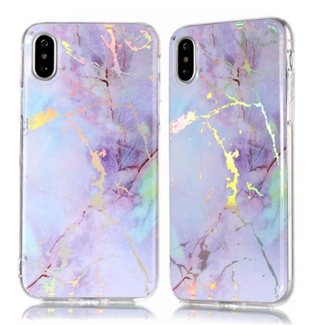 color plated marble tpu case  iphone xr alexnldcom