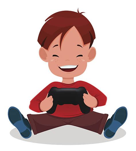 clipart video games kid playing video game clipart collection