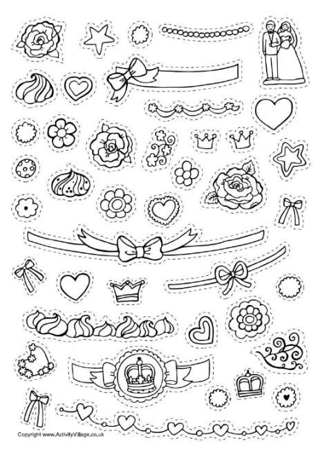 15 best images of cake decorating worksheets coloring