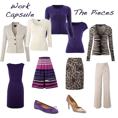 Workwear Wardrobe by Capsule Wardrobe Workwear Whittock