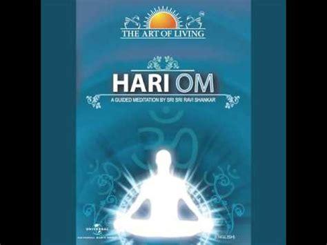 sri sri ravi shankar the of living hari om