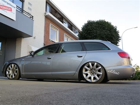 bentley wheels on audi extreme low audi a6 avant with bentley rims in brugge