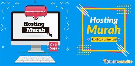 web hosting murah indonesia gratis domain  ssl