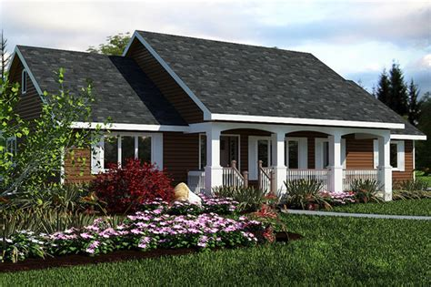 ranch home plans with front porch country style house plan 3 beds 2 baths 1412 sq ft plan 18 1036