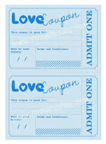 anniversary coupon template printable coupons anniversary birthday gift idea