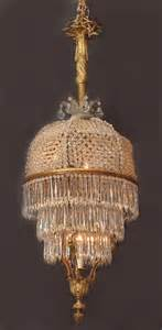 Chandeliers For Sale Antique Exquisite Epoch Original Gas Beaded