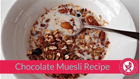 Topfer My Muesli Cereal chocolate muesli recipe