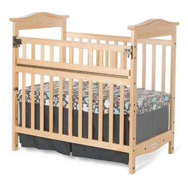 Foundations Baby Cribs Foundations Princeton Clear Choice Mini Crib With Safereach Side In Free Shipping