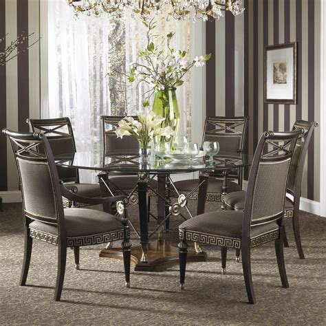 round dining room tables for 6 round table dining room createfullcircle com
