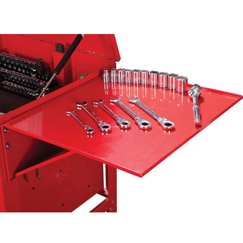 tool box end cabinet tool cart folding tray